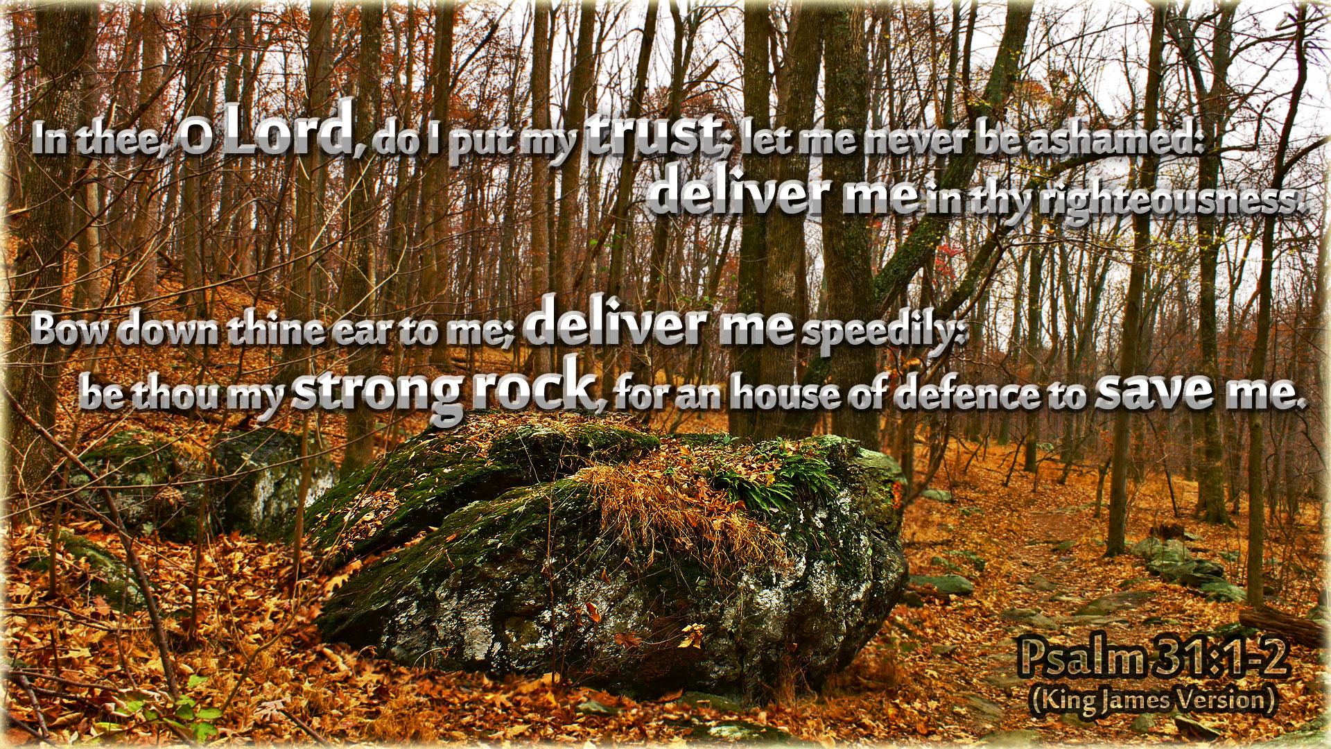 Psalm 31 king james version