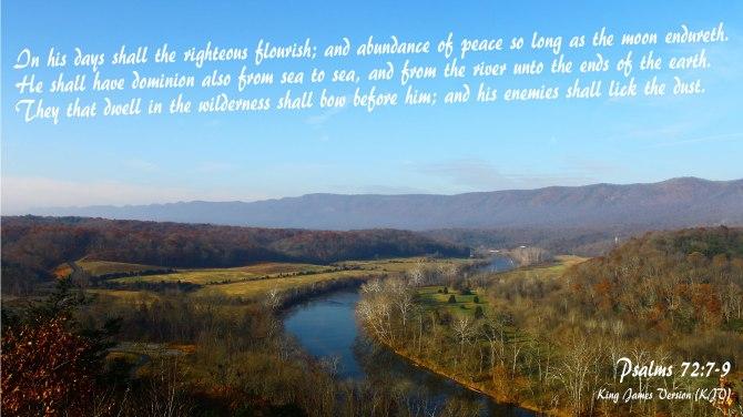 Psalms 72:7-9