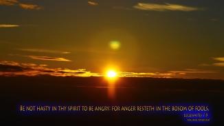 Ecclesiastes 7:9