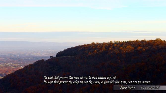 Psalm 121:7-8