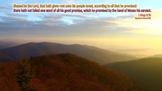 1 Kings 8:56