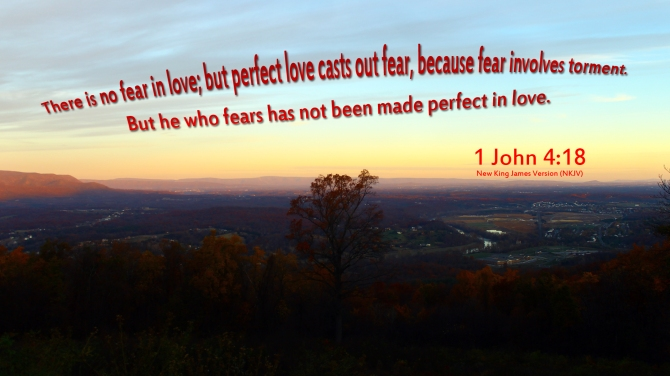 God's Love greater than our fears