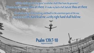Psalm139:7-10