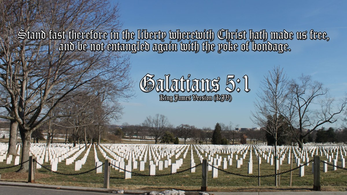 Galations 5:1