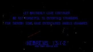 Hebrews 13:1-2