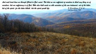 2 Corinthians 3:4-6