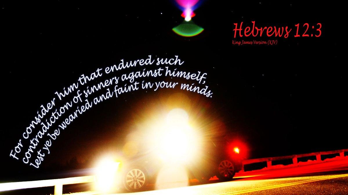 Hebrews 12:3
