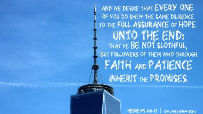 Hebrews 6:11-12