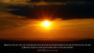 1 John 4:10-11