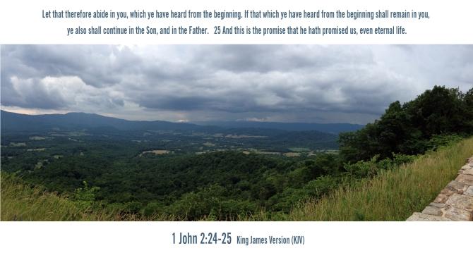 1 John 2:24-25