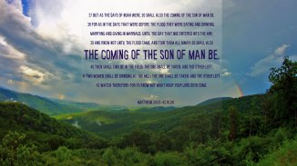 Matthew 24:37-42