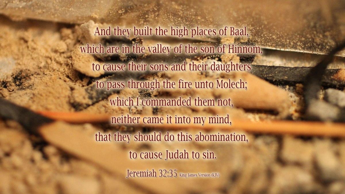 Jeremiah 32:35